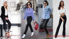 Bahar Ayları İçin Siyah Pantolon Gömlek Kombin Önerileri