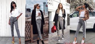 Bayanlar için Gri Pantolon Kombinleri: Kolay ve Şık Öneriler