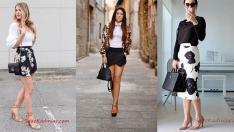 Siyah Etek Beyaz Gömlek Kombini İçin Tarz Stil Önerileri