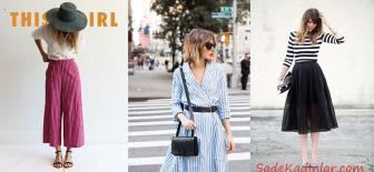 Yazlık Çizgili Kıyafet Kombinleri İle Stilinize Tarz Katın