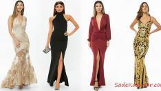 En Trend Uzun Abiye Gece Elbiseleri 2019