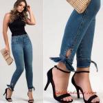 2020 Günlük Jean Kombinleri Lacivert Skinny Jean Siyah Kolsuz Bluz Siyah Stiletto Ayakkabı