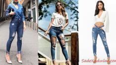 2019 Sokak Modasının En Popüler Günlük Jean Kombinleri