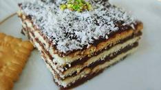 Pratik Bisküvili Pasta Yapımı Kolay Hemde Leziz Tatlı Tarifi