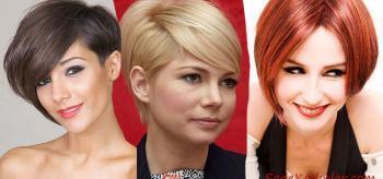 2019 En Trend Şık ve Doğal 20 Kısa Saç Modelleri