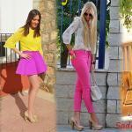 Cıvıl Cıvıl Renkler İle Muhteşem Yazlık Kombinler
