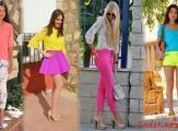 Cıvıl Cıvıl Renkler İle Muhteşem 2019 Yazlık Kombinler