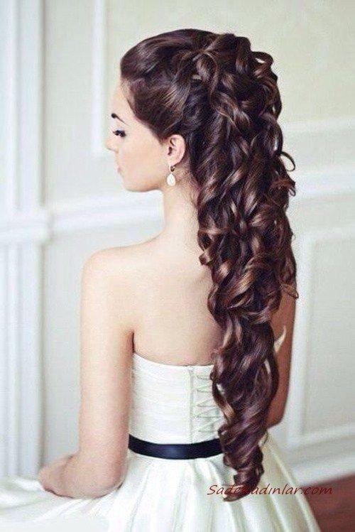 2020 En Güzel Gelin Saç Modelleri