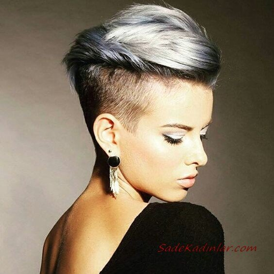 2020 Son Moda Bayan Kısa Saç Kesim Modelleri