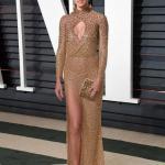 Vanity Fair Oscar Partisi'nde Ünlüler: Adriana Lima