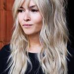 Günlük Kombinler İçin 2020 Uzun Saç Modelleri Dağınık Dalgalı Saç