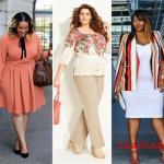 Büyük Beden Bayanlar İçin Şık İş Kıyafet Kombinleri