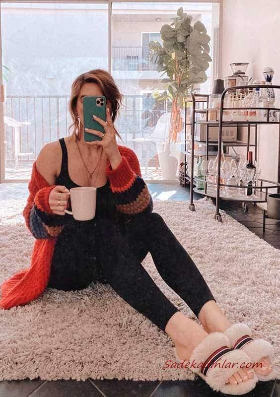 EvdeKal Moda Trendi Bayan Pijama Kombin Önerileri