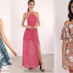 Kadınlar İçin Yeni Moda Yazlık Desenli Elbise Modelleri